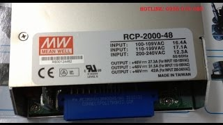 MW - MEAN WELL RCP-2000-48
