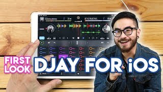 Algoriddim djay For iOS Review - First Look using the iPad Pro!