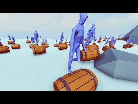 TABS - Barrel Rolling Army! - Totally Accurate Battle Simulator Alpha Download
