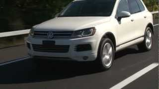 2012 Volkswagen Touareg - Drive Time Review with Steve Hammes