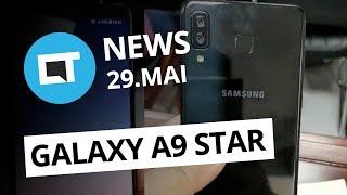 Vídeo do Galaxy A9 Star; Chamada de áudio e vídeo em grupo no WhatsApp e+ [CT News]