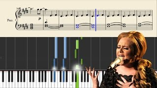 Adele all i ask sheet music