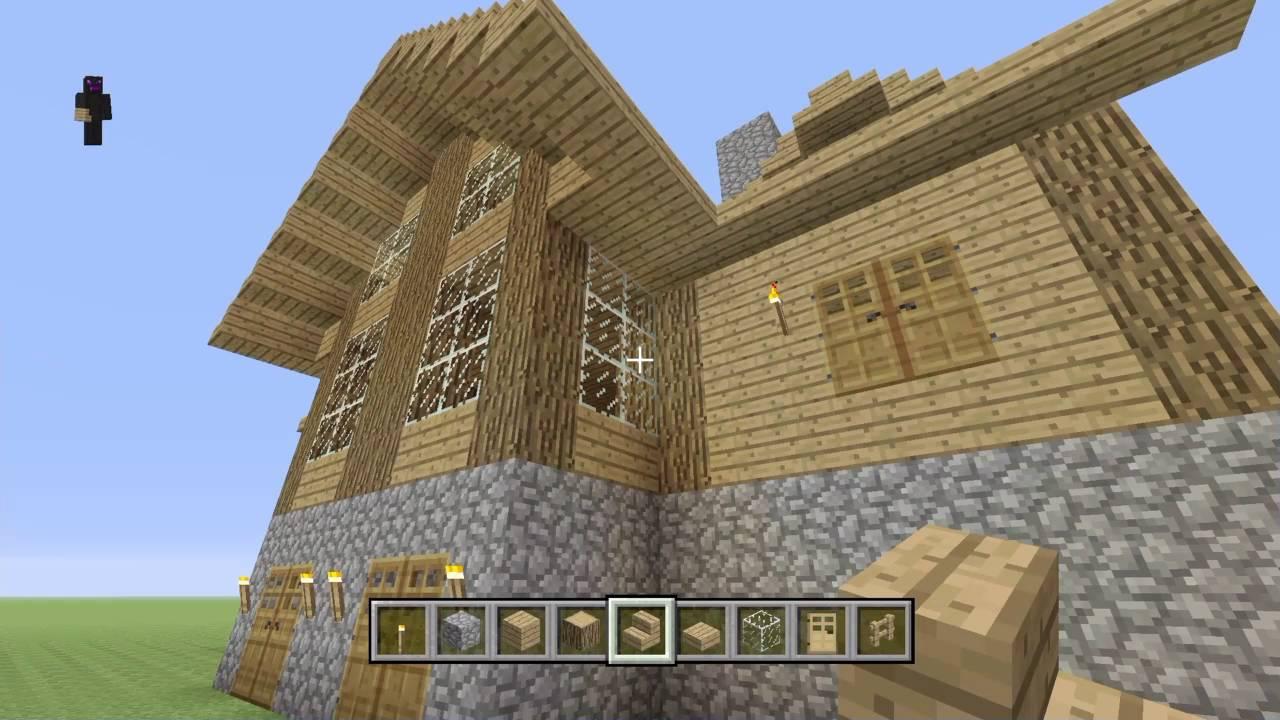 Minecraft: Construction Handbook Wooden House Tutorial #11