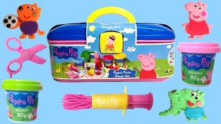 Peppa's Picnic Dough Set Peppa Pig Picnic Playset Peppa Pig Play Doh