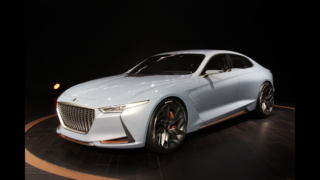 Genesis New York Concept First Look 2016 New York Auto Show Youtube