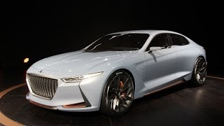 Genesis New York Concept First Look 2016 New York Auto Show