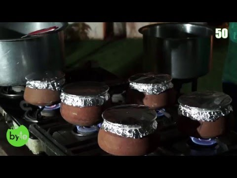 Biryani Cooked in Clay Pot by Deepak Edla, cooked in a sealed  Clay  pot.
