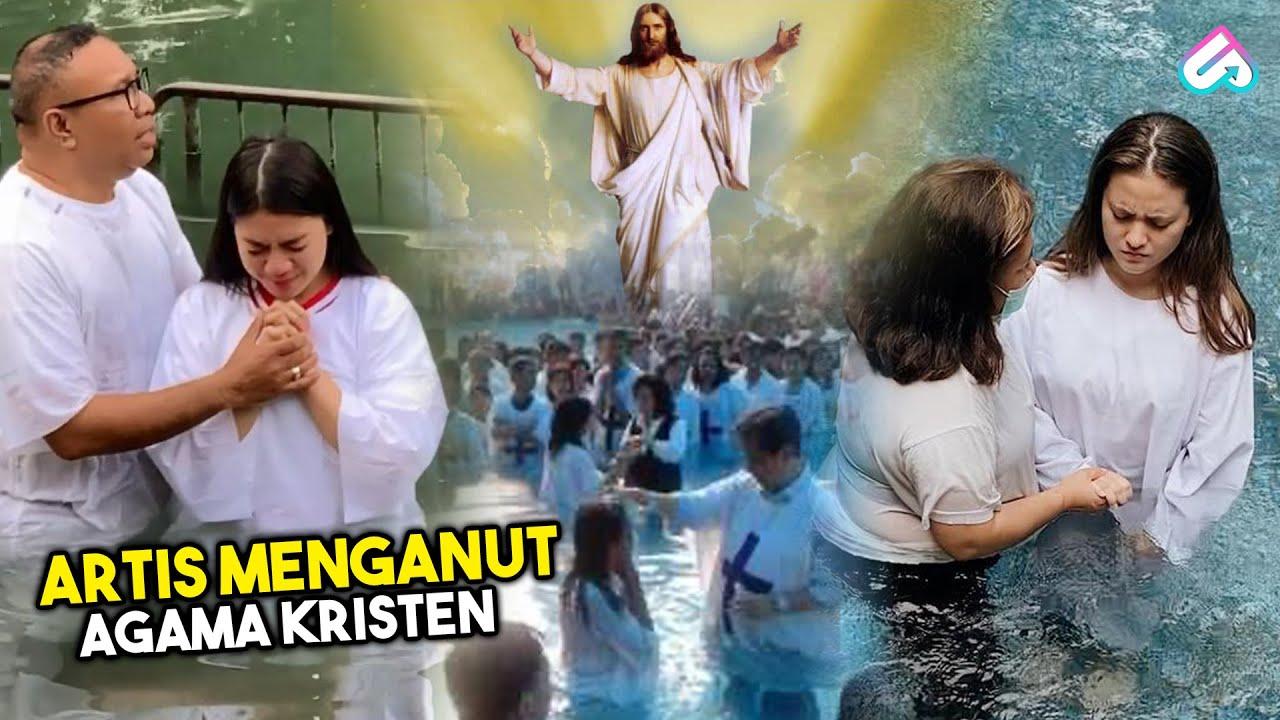 ABIS MURTAD LANGSUNG DIBAPTIS! 10 Artis Cantik Beragama Kristen yang Bangga Jadi Pengikut Yesus