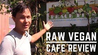 Peace Pies Raw Vegan San Diego Restaurant Review