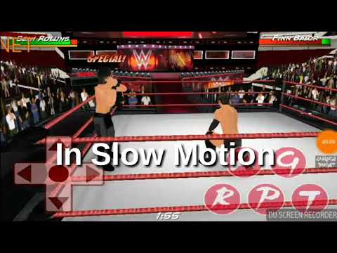 Best! Curb Stomp ever in wr3d in Slow motion