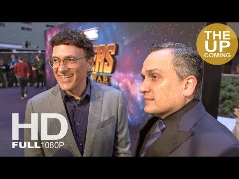 Anthony and Joe Russo interview at Avengers Infinity War premiere in London