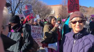 Women's March Santa Fe New Mexico 2019 Clip 1