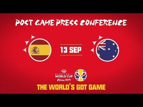 Spain v Australia - Press Conference