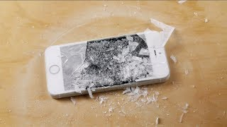 iPhone 5S in Liquid Nitrogen Freeze Test!
