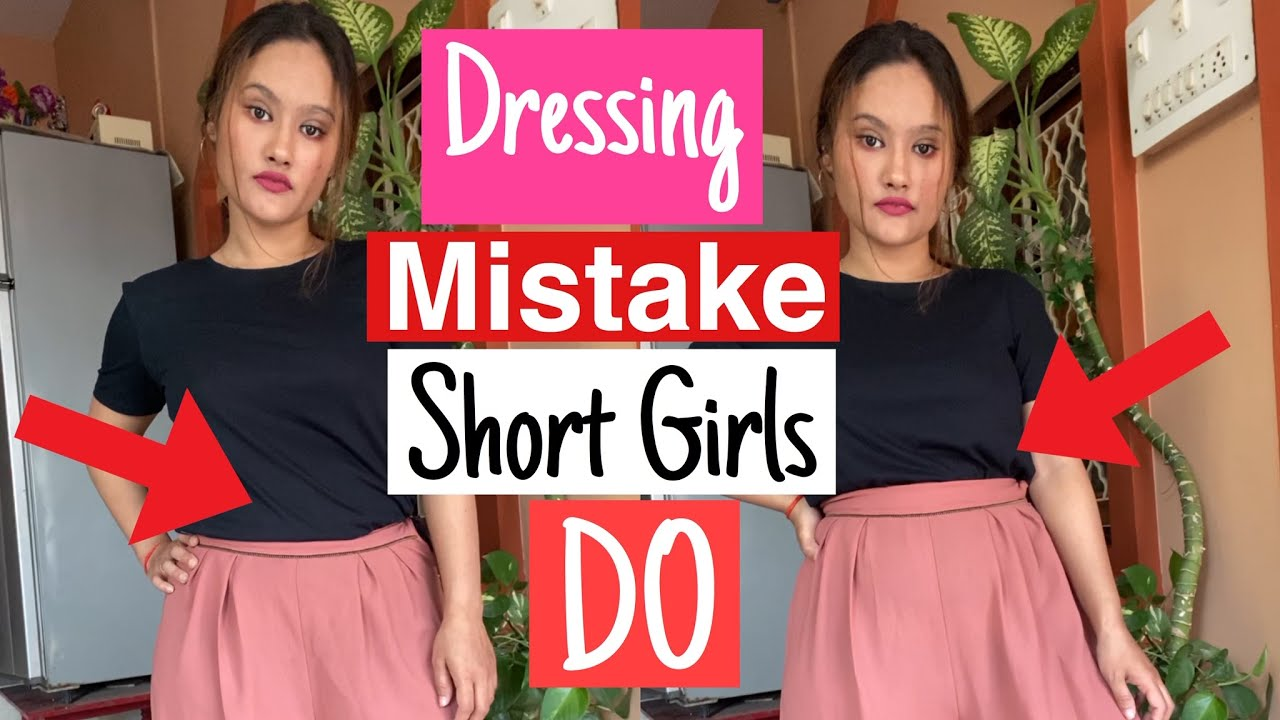Dressing Tips for Short Girls   Fashion hacks and tricks    Priya Chetri