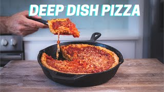 The 4 keys to make perfect CHICAGO DEEP DISH pizza every time