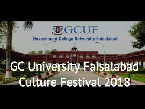 GC University Faisalabad Culture Festival 2018 GB Dance