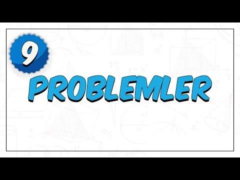9.Sınıf Matematik | Problemler