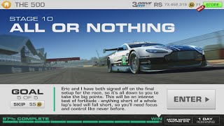Real Racing 3 The 500 Stage 10 Goal 5 Aston Martin Vantage GTE