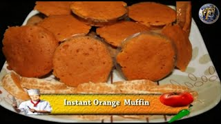 Instant Orange Muffin By F3 Bachelors Cooking (with English Subtitles)