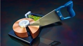 Как увеличить диск с?