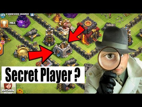 (HINDI) New Mysterious Secret Player Clash Of Clans