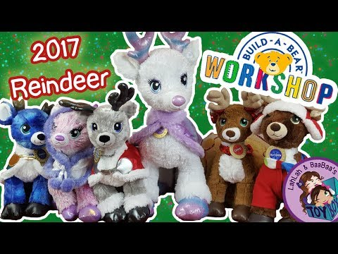 Let's Build Reindeer! ~ Christmas 2017, Trip to Build-A-Bear Workshop, Tinsel, Twinkle, Glisten