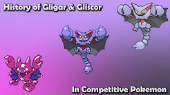 How GOOD were Gligar & Gliscor ACTUALLY? - History of Gligar & Gliscor in Competitive Pokemon