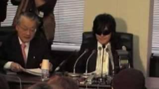 X JAPAN・TOSHI、脱会・離婚・自己破産会見(7) ホームオブハート 検索動画 29