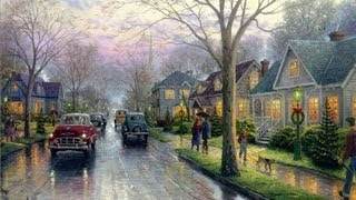 Hometown Christmas by Thomas Kinkade