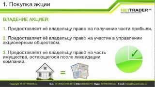 Урок 1. Покупка акций в 4 клика с TRADERNET