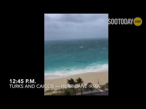 Hurricane Irma bears down on Turks and Caicos