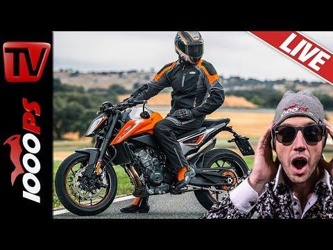 Motorradbekleidung und Zubehör vom Motorradhersteller - KTM Powerparts und Powerwear 2019