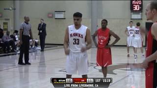 Skyline vs las positas college men's basketball live 2/16/18
