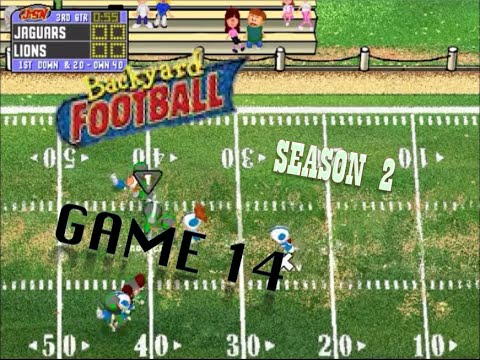 Backyard Football 1999 (PC) (SEASON 2) Game 14: From 0 to ...