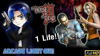 [ 1ชีวิตครั้งเดียวตาย!! ] The House of The Dead 3: Hardcore 1Credit