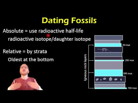 Bio 14.1 - Earth , Fossils, and Dating