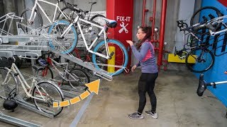This Two-Tier Rack Carries The Bike UP! How to Use The Double Docker