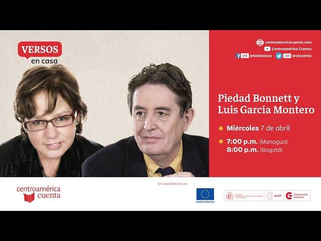 Versos en casa #2: Piedad Bonnett y Luis García Montero