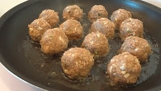 Canned Mackerel Recipe - Italian Meatballs