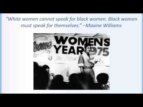 Intersectionality: Black Women in Second-Wave Feminism
