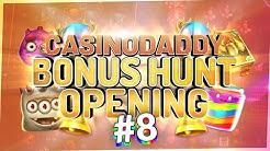 €18000 Bonushunt -  Casino Bonus opening from Casinodaddy LIVE Stream #8