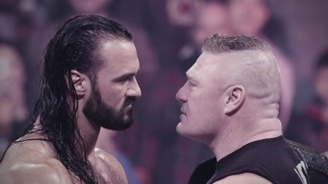 Drew McIntyre Defeats Brock Lesnar to Win WWE Championship at ...