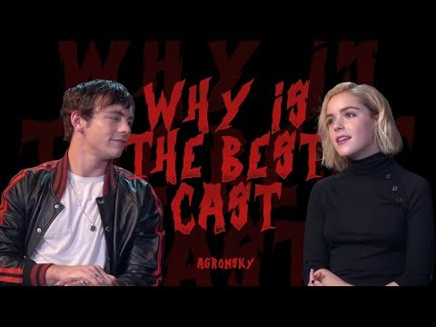 why the 'chilling adventures of sabrina' cast is the best of all time
