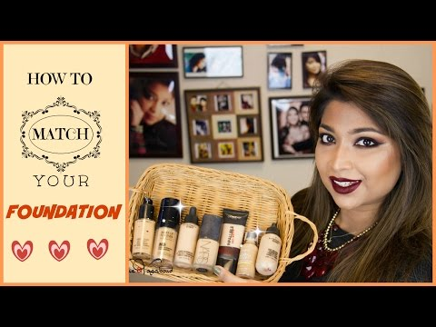 HOW TO MATCH YOUR FOUNDATION ||