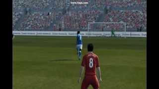 PES 2013 demo - Balotelli volley