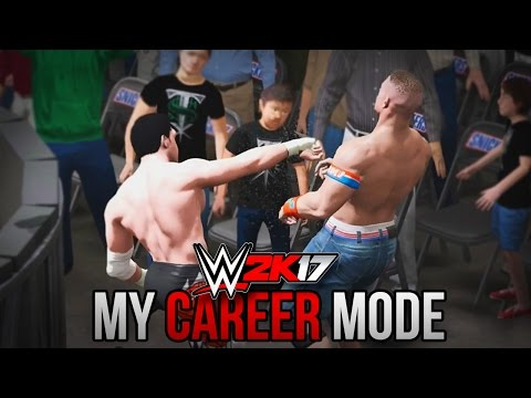 "WWE 2K17 My Career Mode - Ep. 5 - ""A BATTLE IN THE CROWD!!"" [WWE 2K17 MyCareer Part 5]"