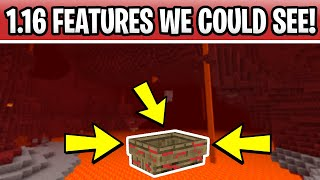 Minecraft 1.16 Nether Update Features We Could See! Nether Boat, New Weapons & Boss!