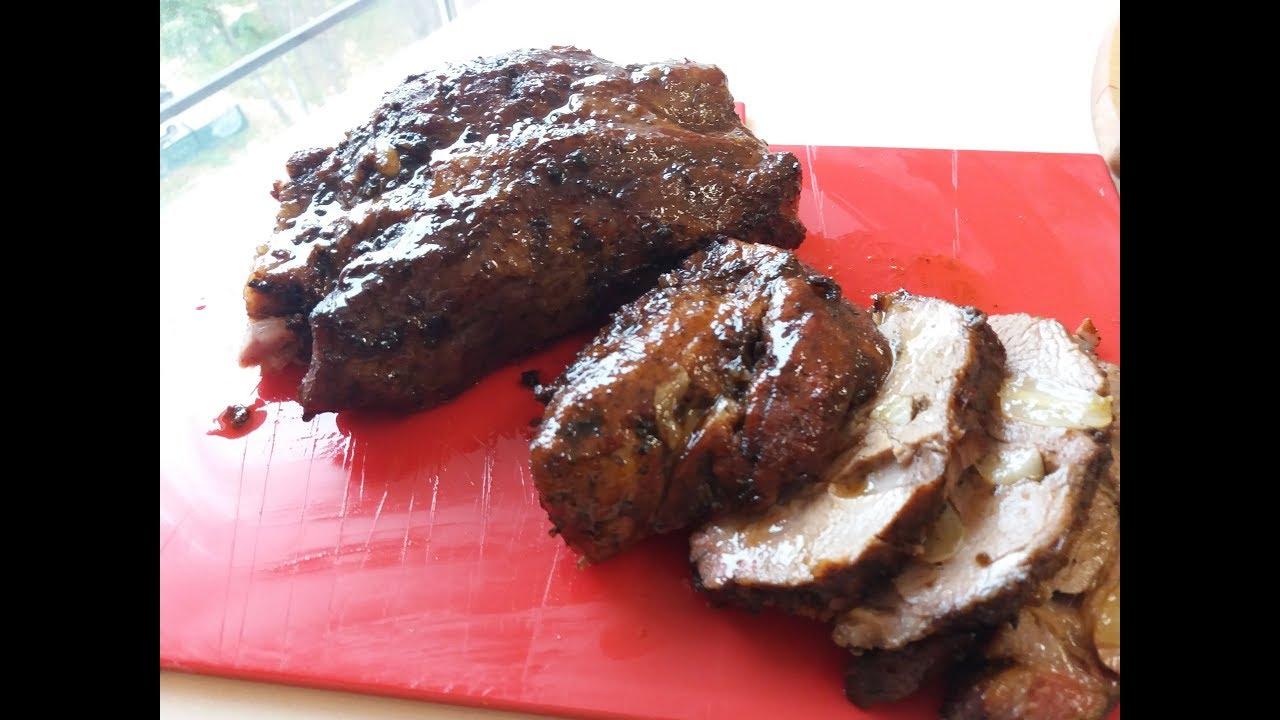 Невероятно нежное и вкусное запеченное мясо в духовке/Запечена свинина/Ароматная запеченная свинина