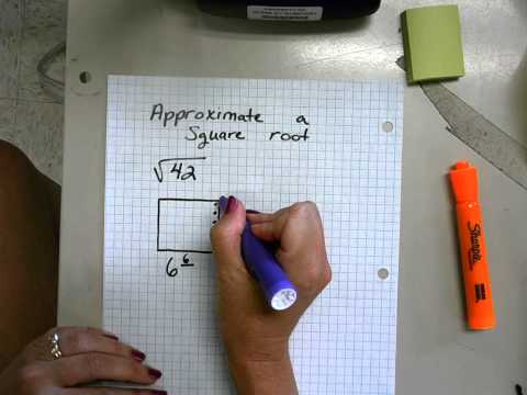 Approximate A Square Root Using Graph Paper